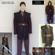 Anakin Skywalker Costume Set - Size Large Only